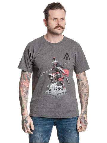 Ubisoft T-Shirt Assassins Creed Odyssey Warrior in grau meliert