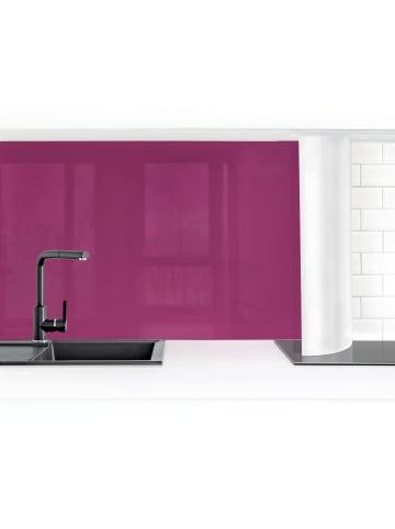 Bilderwelten  Küchenrückwand - Orchidee in Violett