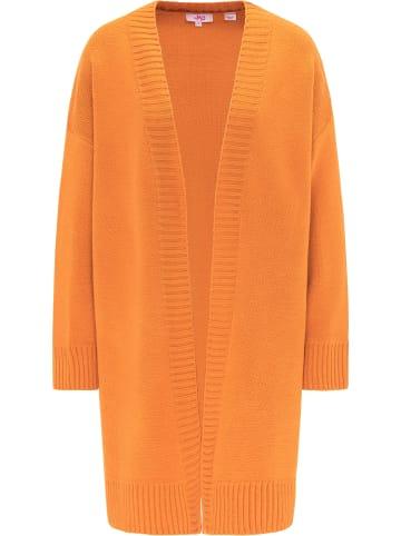 MyMo Cardigan in Orange