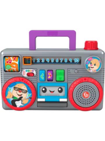Mattel Fisher-Price Lernspaß Boombox mit Musik, Lernspielzeug ab 6 Monaten