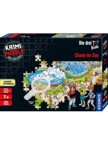 Kosmos Krimipuzzle Die drei ??? Kids - 150 Teile - Chaos im Zoo