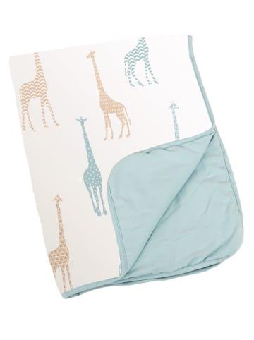 "Doomoo Babydecke dream ""Giraffe"" in Blau"