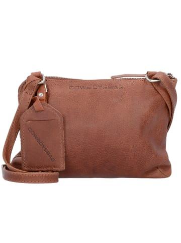 Cowboysbag Bag Tiverton Umhängetasche Leder 24 cm in cognac