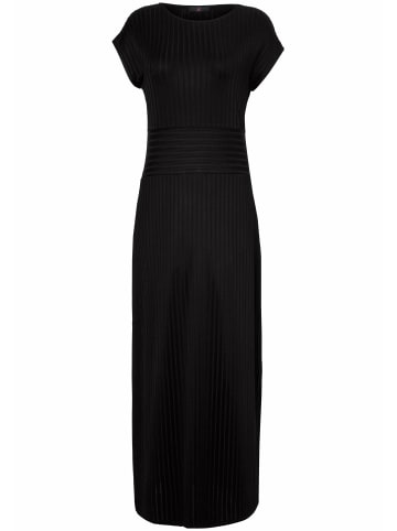 EMILIA LAY Jerseykleid mit überschnittener Schulter in schwarz