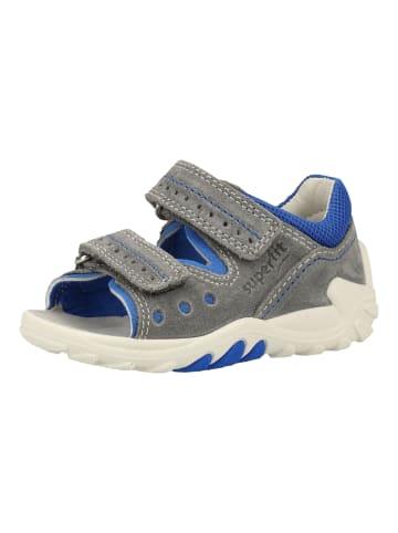 Superfit Sandalen in Blau/Grau