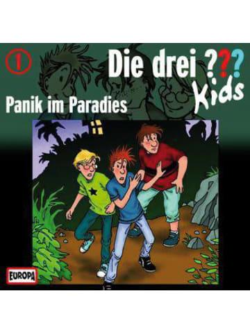 Die drei Fragezeichen Die drei ??? Kids: Panik im Paradies, Audio-CD