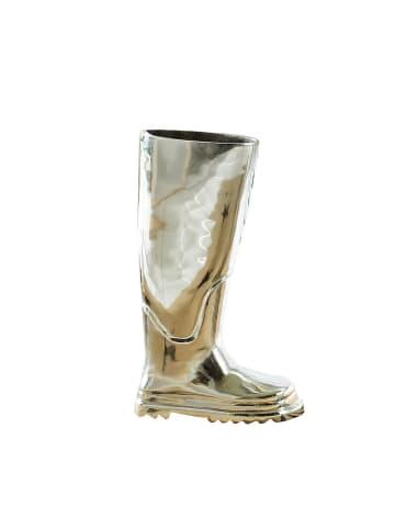 Pureday Regenschirmständer Stiefel, Silberfarben