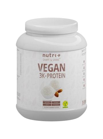 Nutri+ Pulver Vegan 3K Proteinpulver (1000g) in Kokos-Mandel