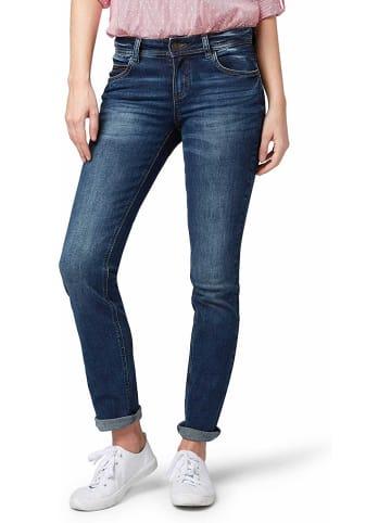 Tom Tailor Straight Leg Jeans in blau