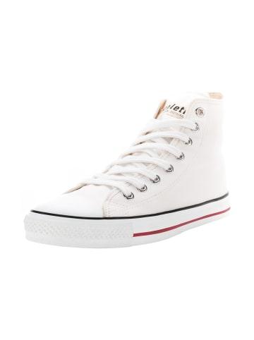 Ethletic Sneaker Lo Fair Trainer White Cap Hi Cut in just white   just white