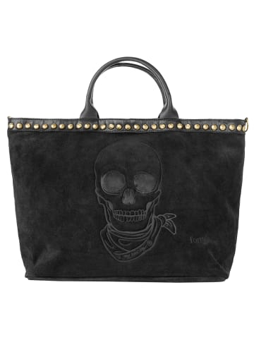 Forty degrees Shopper in schwarz