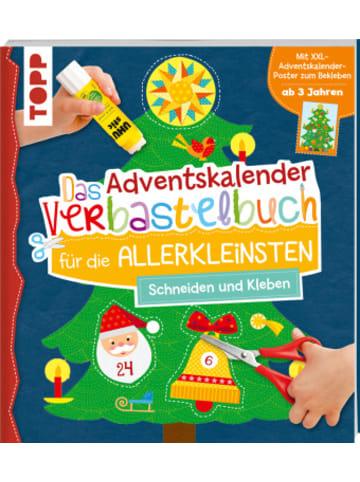 Frech Das Adventskalender-Verbastelbuch für die Allerkleinsten. Schneiden und Kleben. Mit XXL-Poster