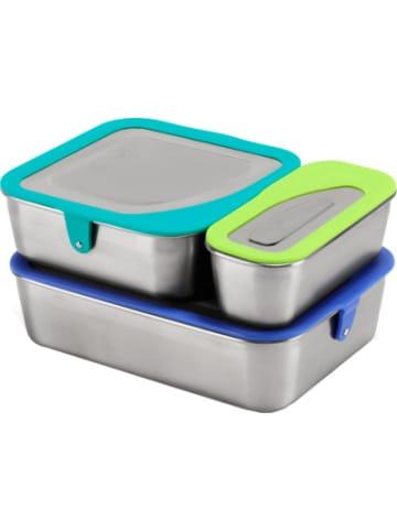 Klean Kanteen Edelstahl Food Box Set, 3-tlg.