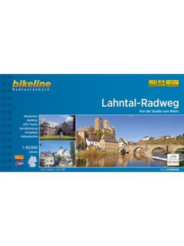 Esterbauer Bikeline Radtourenbuch Lahntal-Radweg
