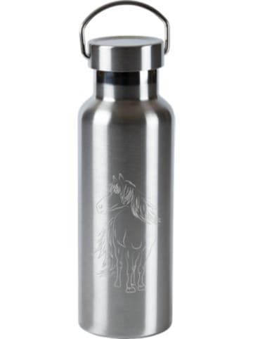 TapirElla Edelstahl-Trinkflasche Pferde, 500 ml