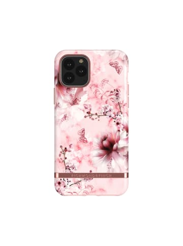 """Richmond & Finch Cover """"Pink Marble Floral"""" für iPhone 11 Pro in mehrfarbig"""