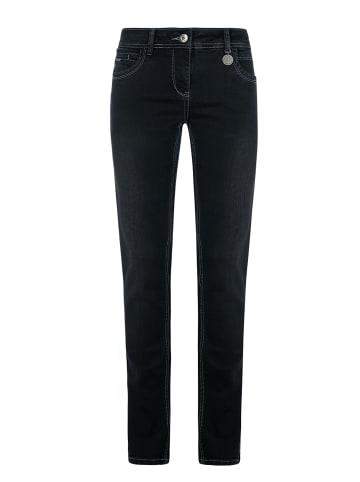 Million X - Women Damen Jeans Victoria superstraight in black