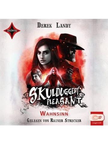 Hörcompany Skulduggery Pleasant - Wahnsinn, 2 MP3-CDs