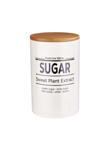 Butlers Vorratsdose Sugar 1100ml KARLTON BROS. in weiß