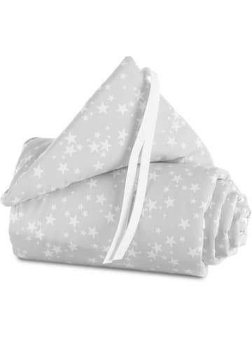 Babybay Nestchen für maxi/boxspring, Sterne weiß, 168 x 25 cm