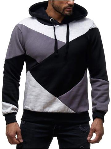 Sky Rebel Sweater Hoodie Kaputzen Pullover in Grau