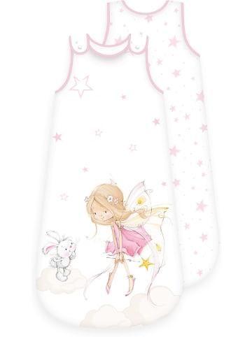 Herding Little Fairy Baby-Schlafsack 90 cm rosa/weiß