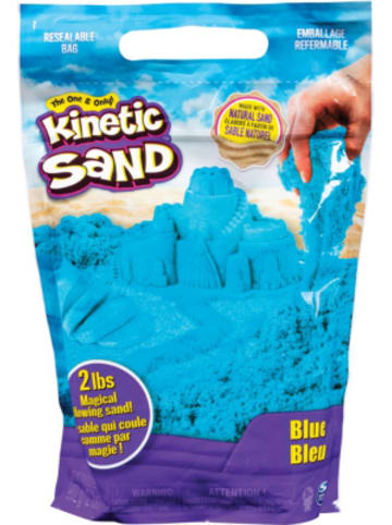 Spin Master Kinetic Sand blau, 907 g Beutel