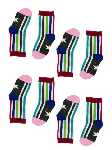Tag Socks Unisex Kindersocken 4-Paar Multipack Verschiedene Designs in Multicolor1