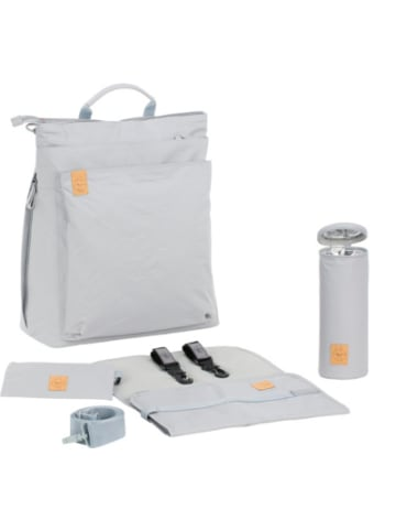 Lässig Wickelrucksack Tyve, Backpack, Greenlabel, grey