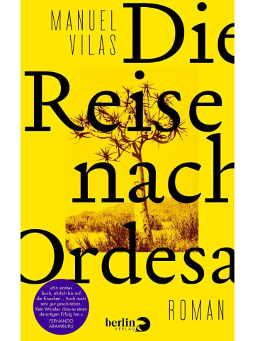 Berlin VERLAG Die Reise nach Ordesa | Roman