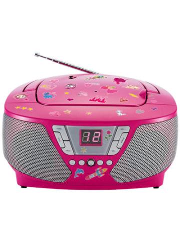 Bigben CD-Player mit Radio CD60 - Kids (pink)