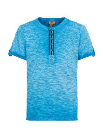 Million X Kids Jungen T-Shirt SAILING CLUB in cobalt blue