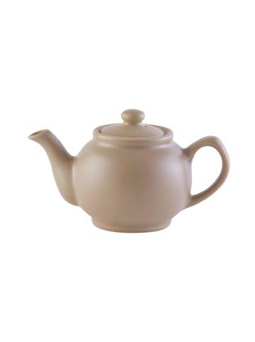 Price&Kensington Teekanne, matt taupe, 2 Tassen
