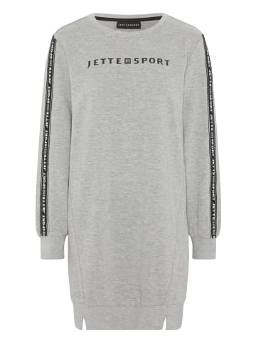 Jette Sport Kleid in 17-4402M Neutral Gray Melange