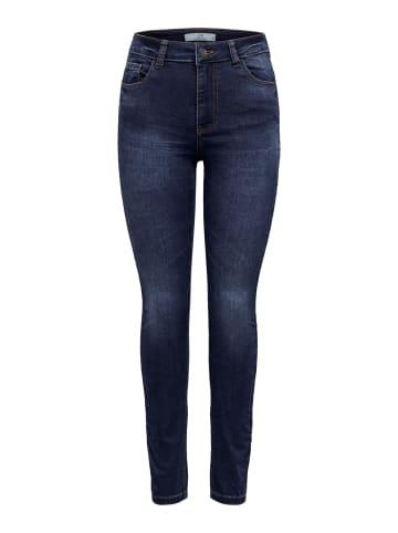 JACQUELINE de YONG Skinny Fit Jeans JDYNEWNIKKI High Waist Denim Hose in Blau