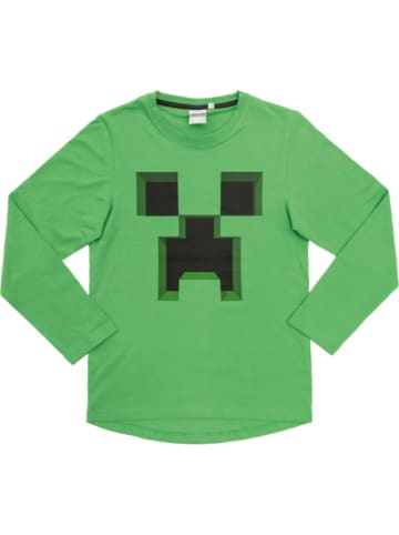 Minecraft Sweatshirt Ever Green 116cm