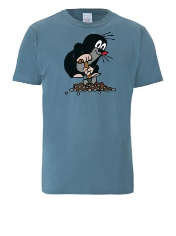 Logoshirt T-Shirt Der Kleine Maulwurf in blau