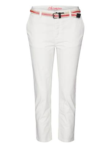Chiemsee Chinohose in Bright White