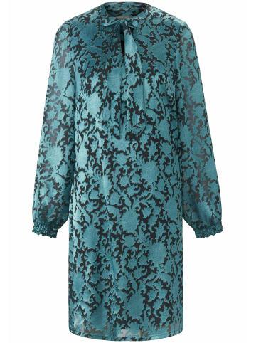 UTA RAASCH Abendkleid Kleid in A-Linie in smaragd/schwarz