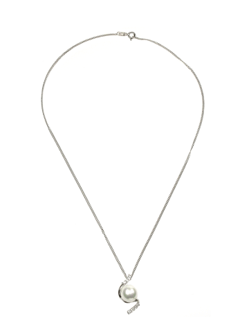 Perlas Orquidea  Perlenanhänger Rheia in weiß