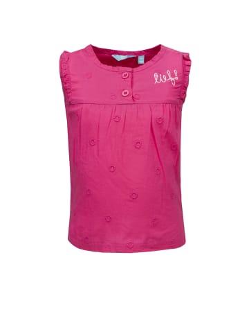 Lief T-Shirt ärmellos in fandango pink