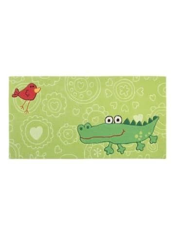Sigikid Teppich Happy Zoo Crocodile in lindgrün