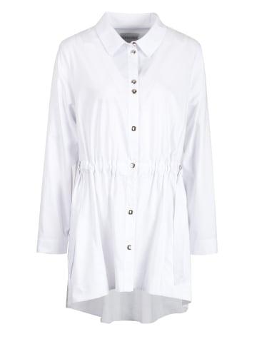 HELMIDGE Shirtbluse Bluse in weiss
