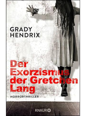 Knaur Der Exorzismus der Gretchen Lang | Horrorthriller