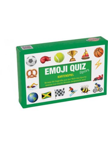 """Bubblegum Quiz-Karten """"Kennst du das Emoji Sport"""""""