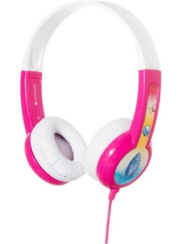 BuddyPhones Kinder On-Ear Kopfhörer - BuddyPhones Discover, pink