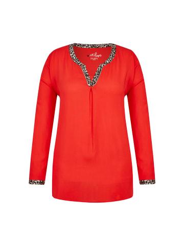 VIA APPIA DUE  Bluse in rot multicolor