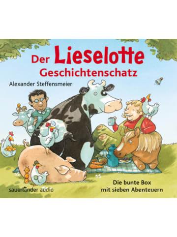 Argon Der Lieselotte Geschichtenschatz, 2 Audio-CDs