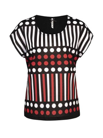 Million X - Women Damen T-Shirt mit Punkten in rose red