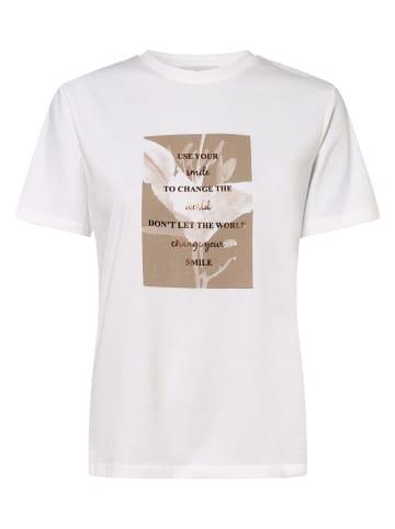 Apriori T-Shirt in weiß taupe
